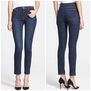 Frame Le High Skinny jeans in Saltair